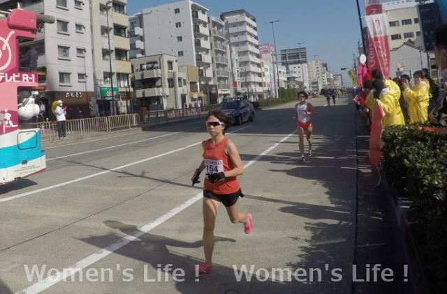 大塚 英梨子選手 名古屋ウィメンズマラソン2018