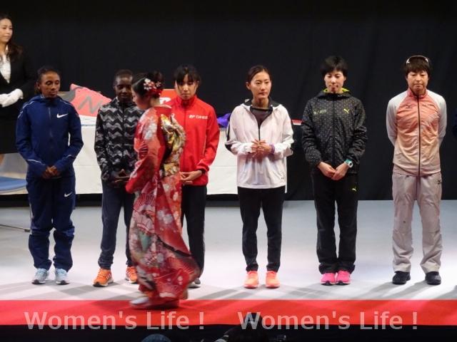 名古屋ウィメンズマラソン表彰式2018