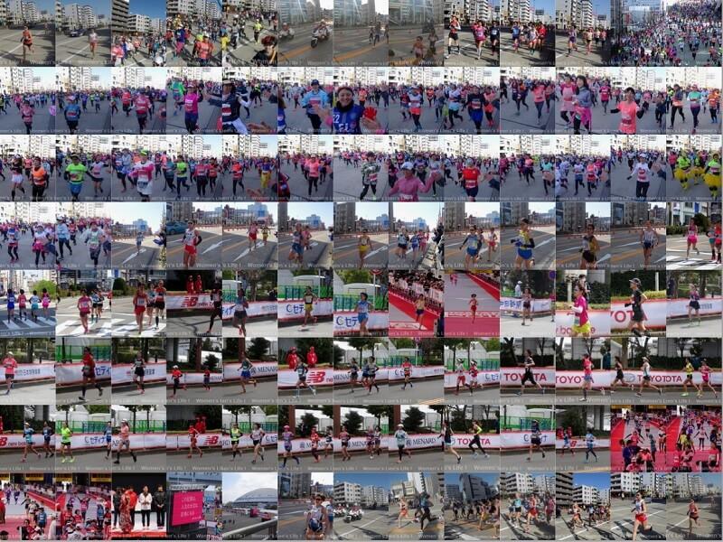 名古屋ウィメンズマラソン2018 画像 ギャラリー