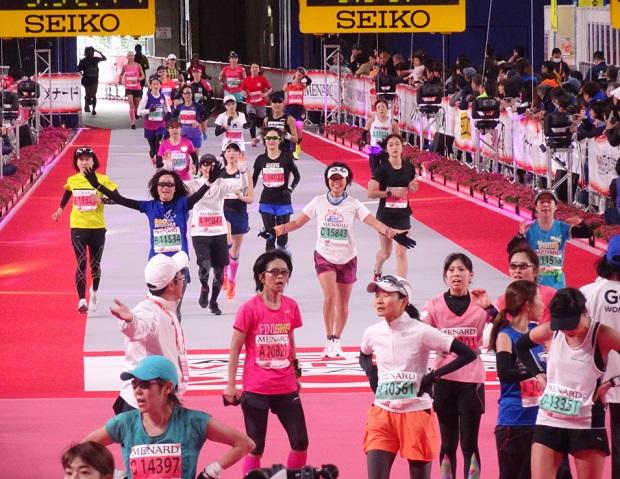 名古屋ウィメンズマラソン ゴール