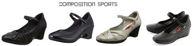 コンポジションスポーツのパンプス