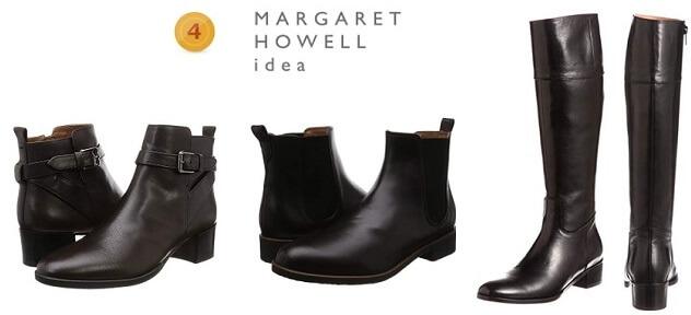 4位 マーガレットハウエルのブーツ